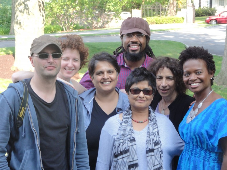 The NYC crew with LaChanze