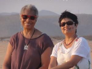 Alice Walker and director Pratibha Parmar.